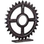 Bronze Gear Sculpture 04732