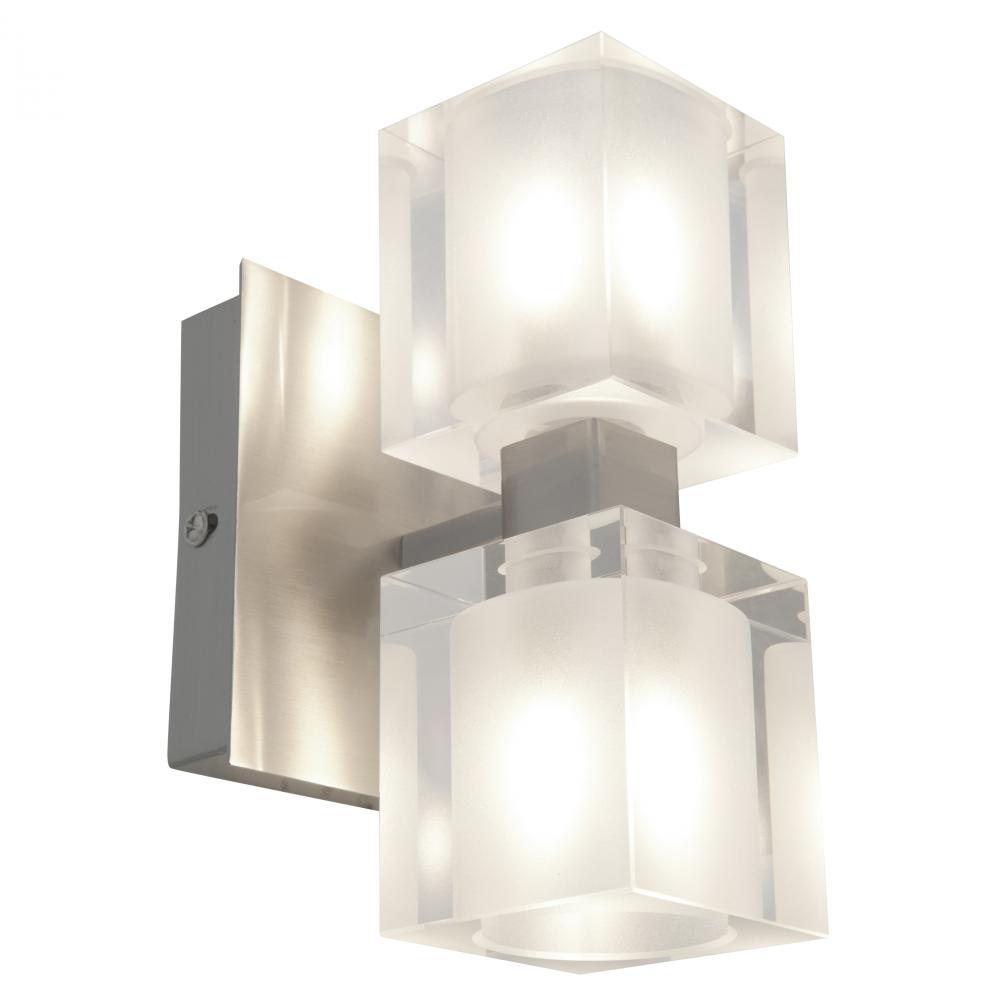 Amazing Eurofase 20383022 Paloma 3 Light UpDown Mount Bathroom In Satin