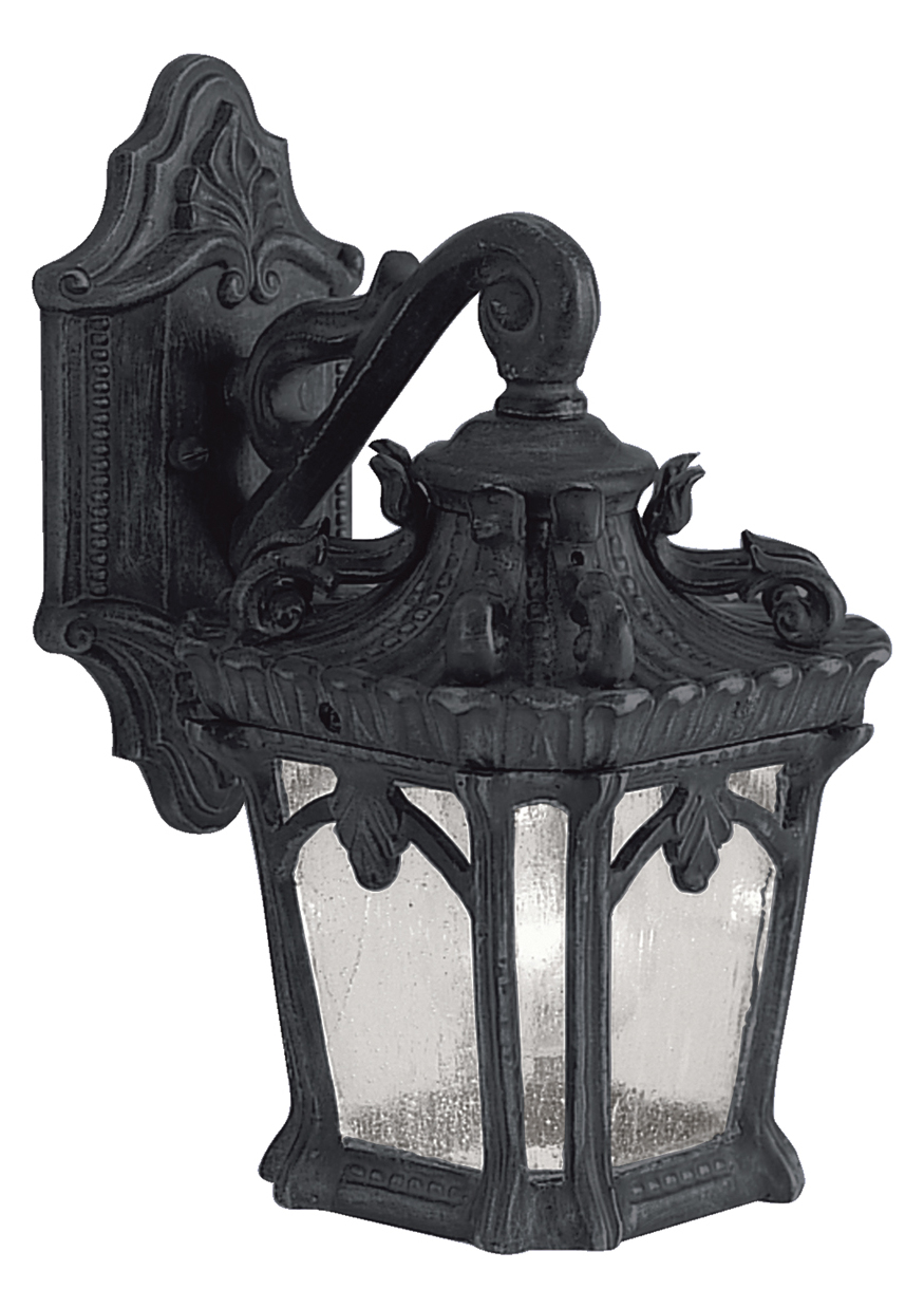 Kichler Black Tournai Collection 1 Light 11in Outdoor