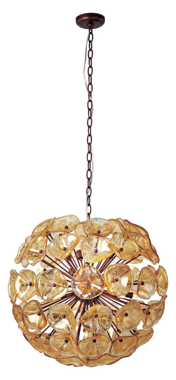 ET2 Fiori 20-Light Pendant Bronze E22094-26 From Fiori ...