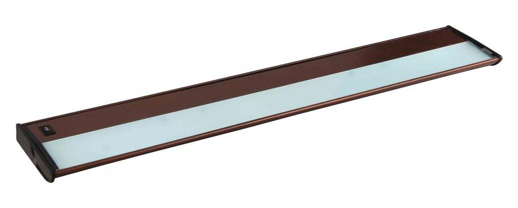 Maxim Five Light Metallic Bronze Undercabinet Strip
