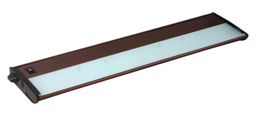Maxim Three Light Metallic Bronze Undercabinet Strip