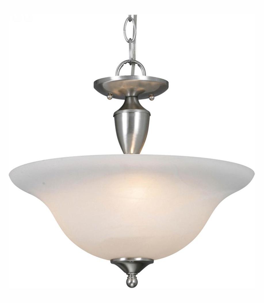 Golden Pewter Three Light Convertible Bowl Pendant Ceiling