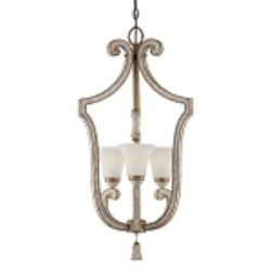 "Accents Provence Collection 3-Light 33"" Provence Patina Pendant 1234-580"