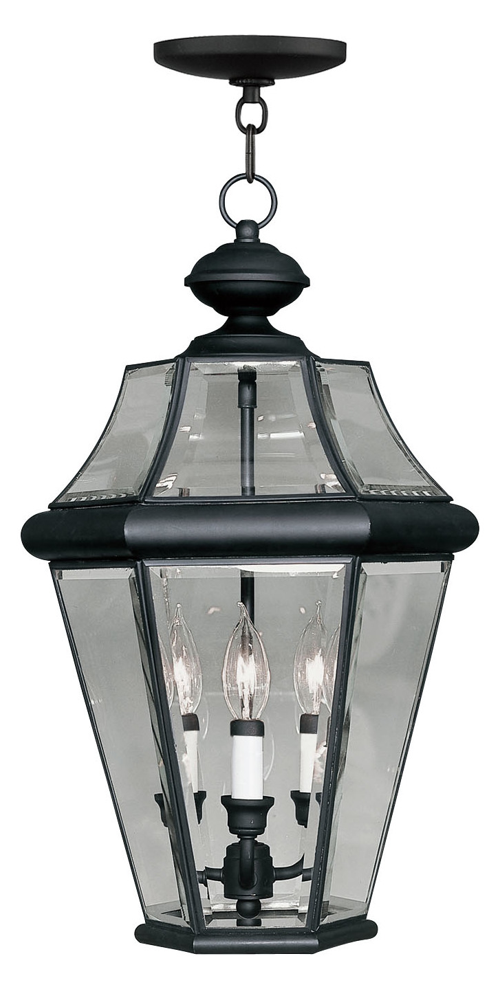 Foyer Lighting Black : Livex lighting black outdoor foyer hall fixture