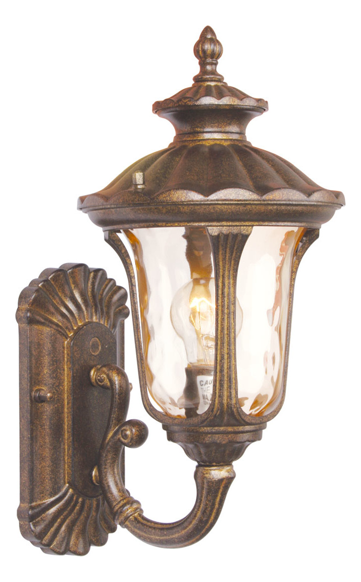 Livex Lighting Moroccan Gold Wall Lantern Moroccan Gold 7650-50 From Oxford Collection