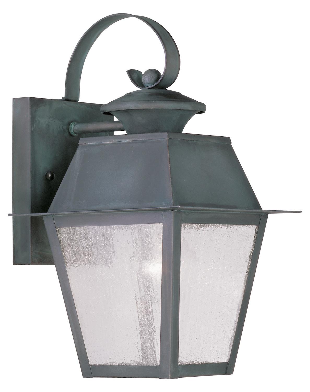 Livex Lighting Charcoal Wall Lantern Gray 2162 61 From