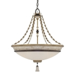 "Accents Provence Collection 4-Light 28"" Provence Patina Pendant 1294-580"