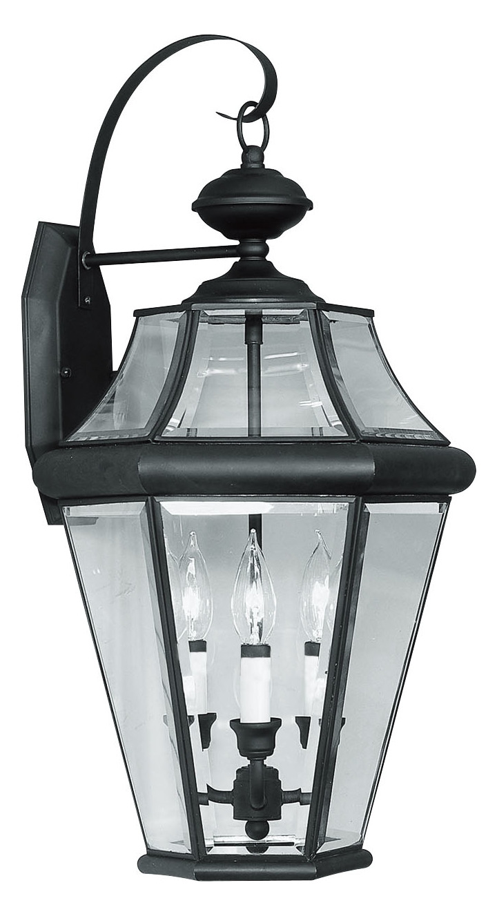 Livex Lighting Black Wall Lantern Black 2361 04 From