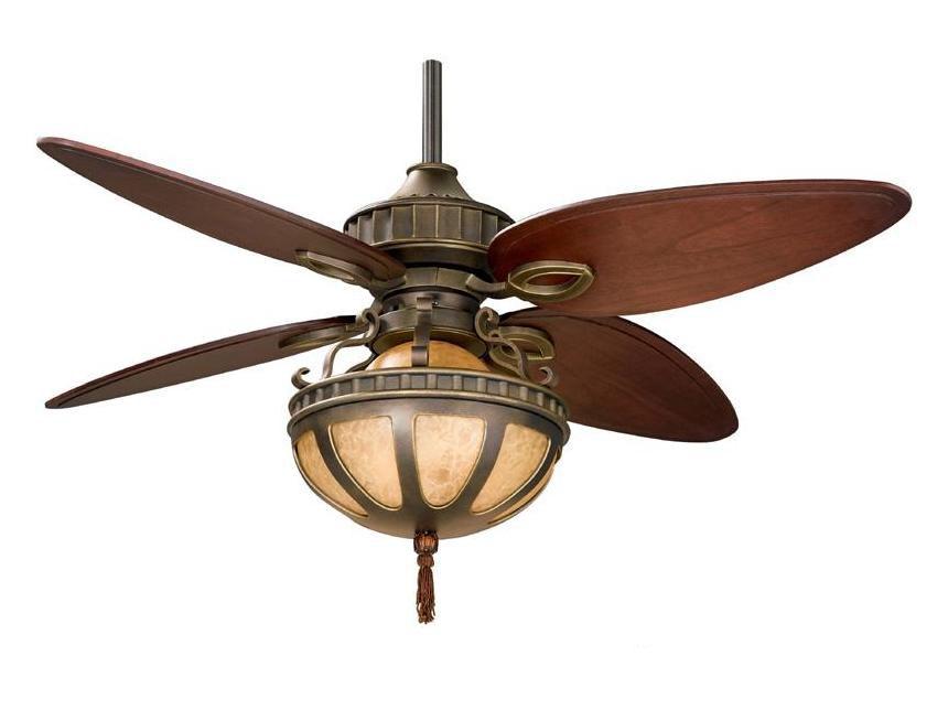 Fanimation Three Light Bronze Ceiling Fan Venetian Bronze