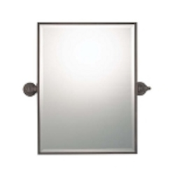 "Cimarron Collection 24"" Dark Brushed Bronze Rectangle Mirror 1440-267"