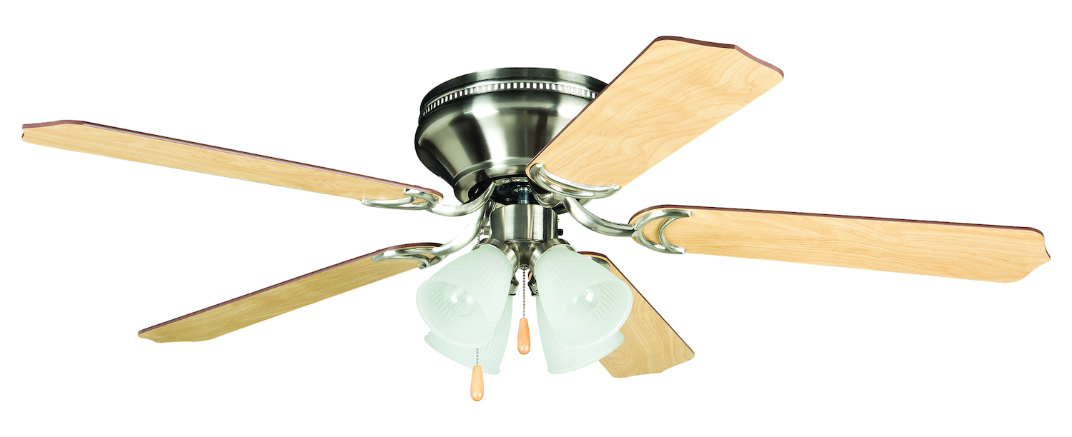 Craftmade Ceiling Fan With Blades Included Nickel
