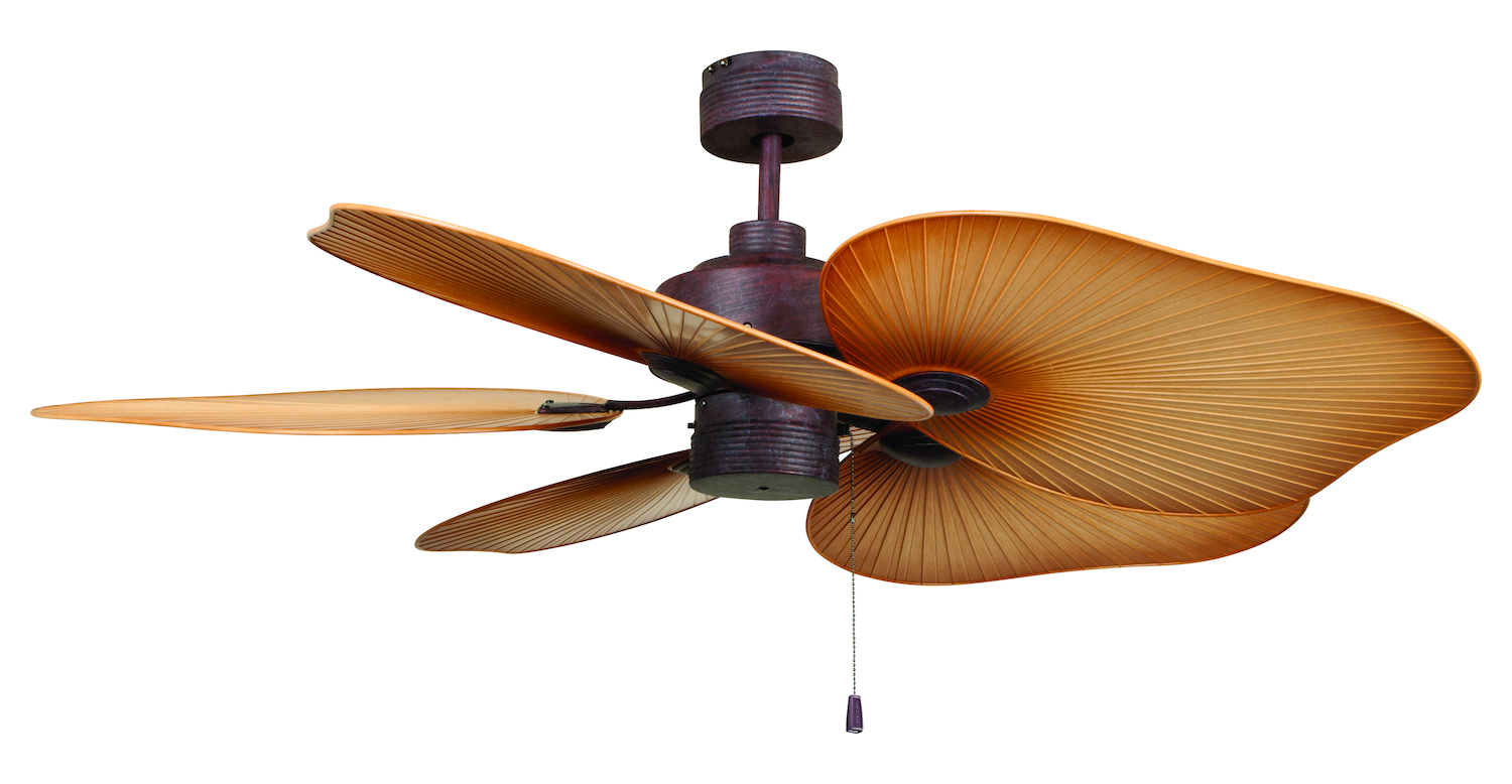Craftmade Ceiling Fan With Blades Included Copper Tah52cs5 From Tahiti Collection