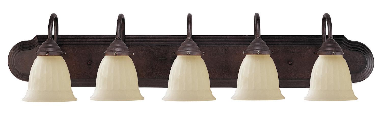 savoy house five light english bronze vanity light fixture. Black Bedroom Furniture Sets. Home Design Ideas