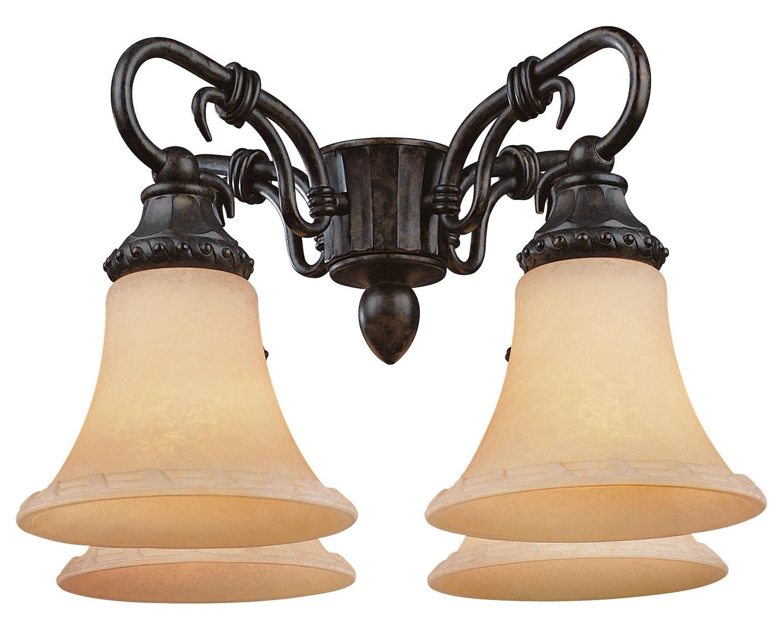 Savoy House FLGC 501 56 Villamoura Fan Light Kit New Tortoise Shell
