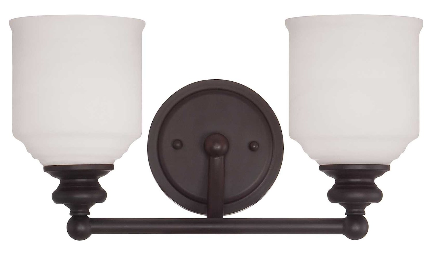 Bronze Vanity Lights With Clear Glass : Savoy House Two Light English Bronze White Opal Etched Glass Vanity English Bronze 8-6836-2-13 ...