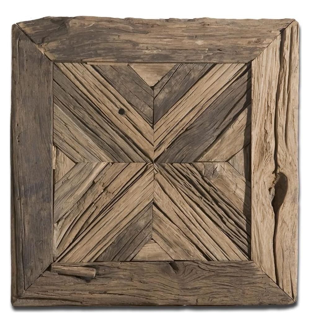 uttermost reclaimed wood wall art wood 04014 from rennick collection. Black Bedroom Furniture Sets. Home Design Ideas