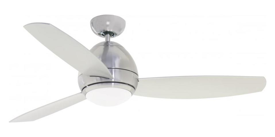 emerson fans two light brushed steel ceiling fan brushed. Black Bedroom Furniture Sets. Home Design Ideas