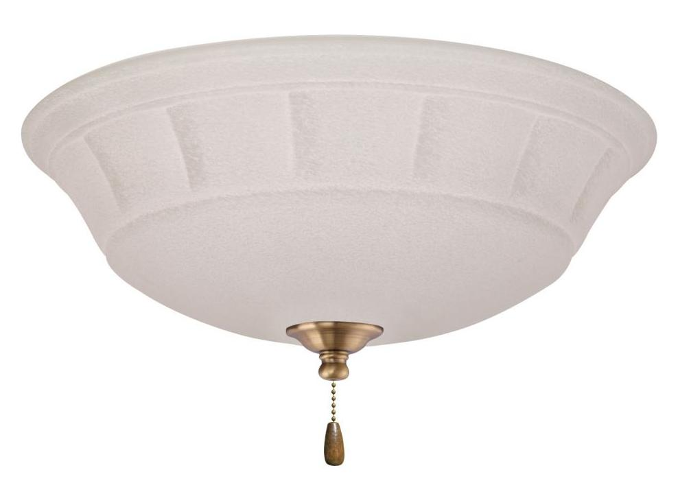 Emerson fans antique brass grande 3 light ceiling fan light kit antique brass lk141ab from - Vintage ceiling fan with light ...