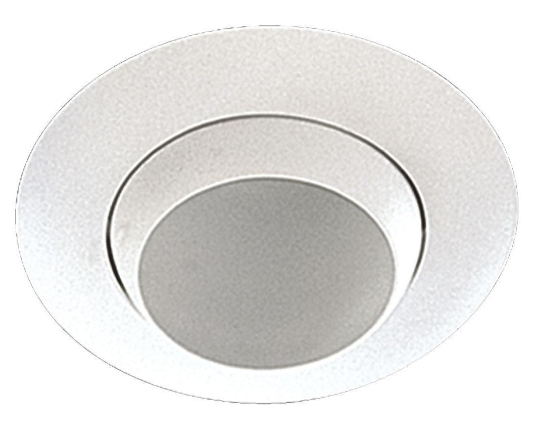 Quorum One Light White Directional Recessed Light White