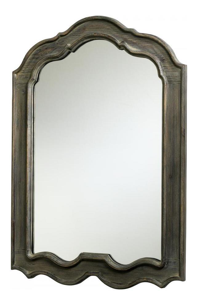 Cyan Designs Distressed Gray 39in Kathryn Mirror