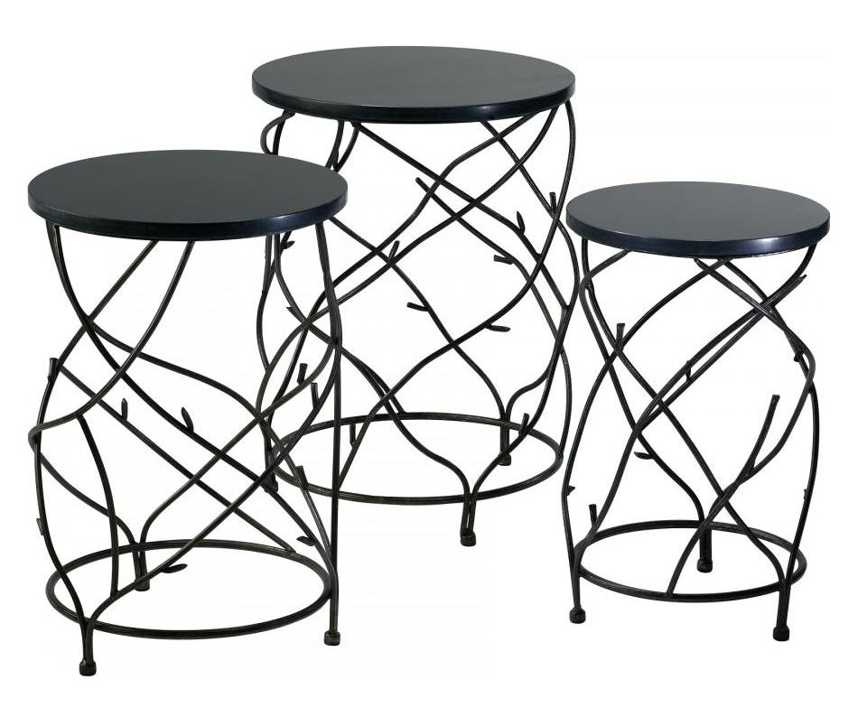 Cyan Designs Canyon Bronze 25in Branch Drum Tables Canyon Bronze 02765 From Branch Collection