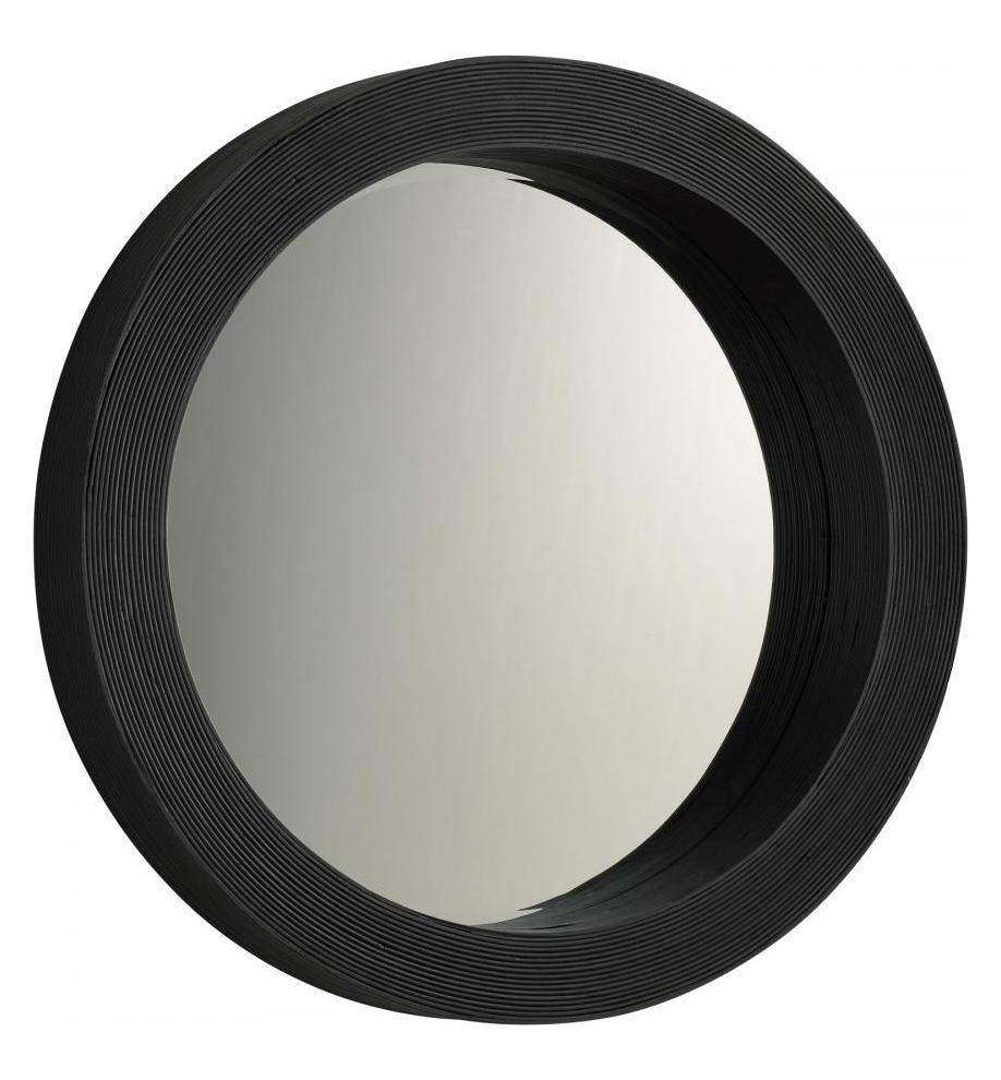 Cyan Designs Round Mirror Black 04068 From Round Mirror