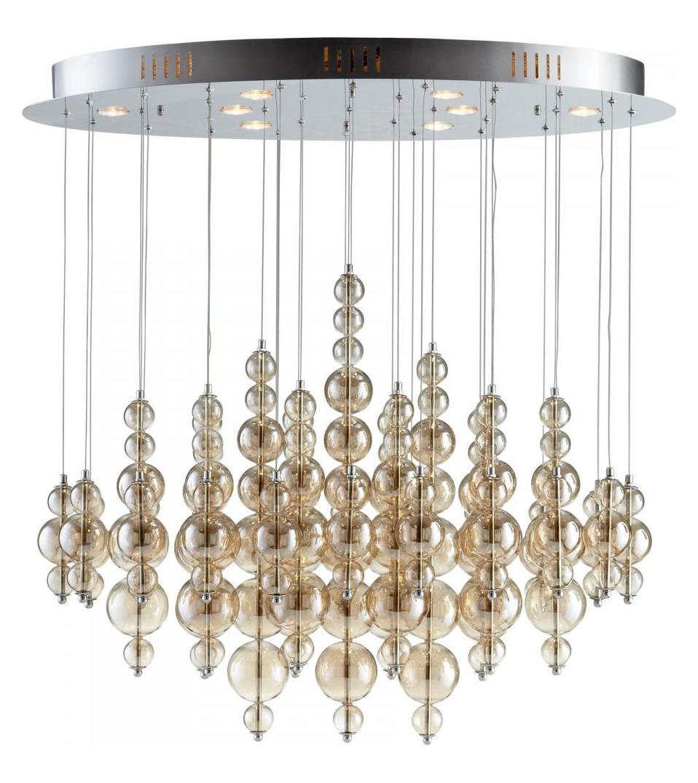 Cyan Designs Smokey Brown Bubbles Cash 8 Light Multi Light