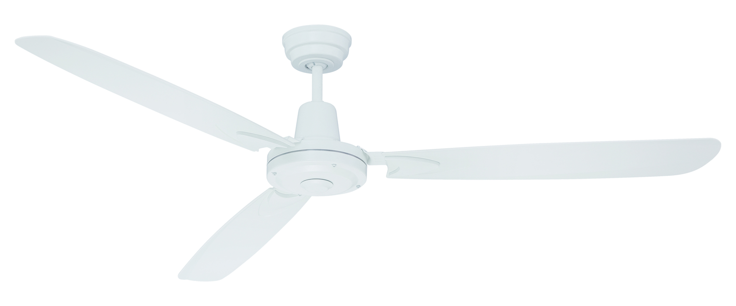 Craftmade Velocity 58 In Indoor Ceiling Fan In White White