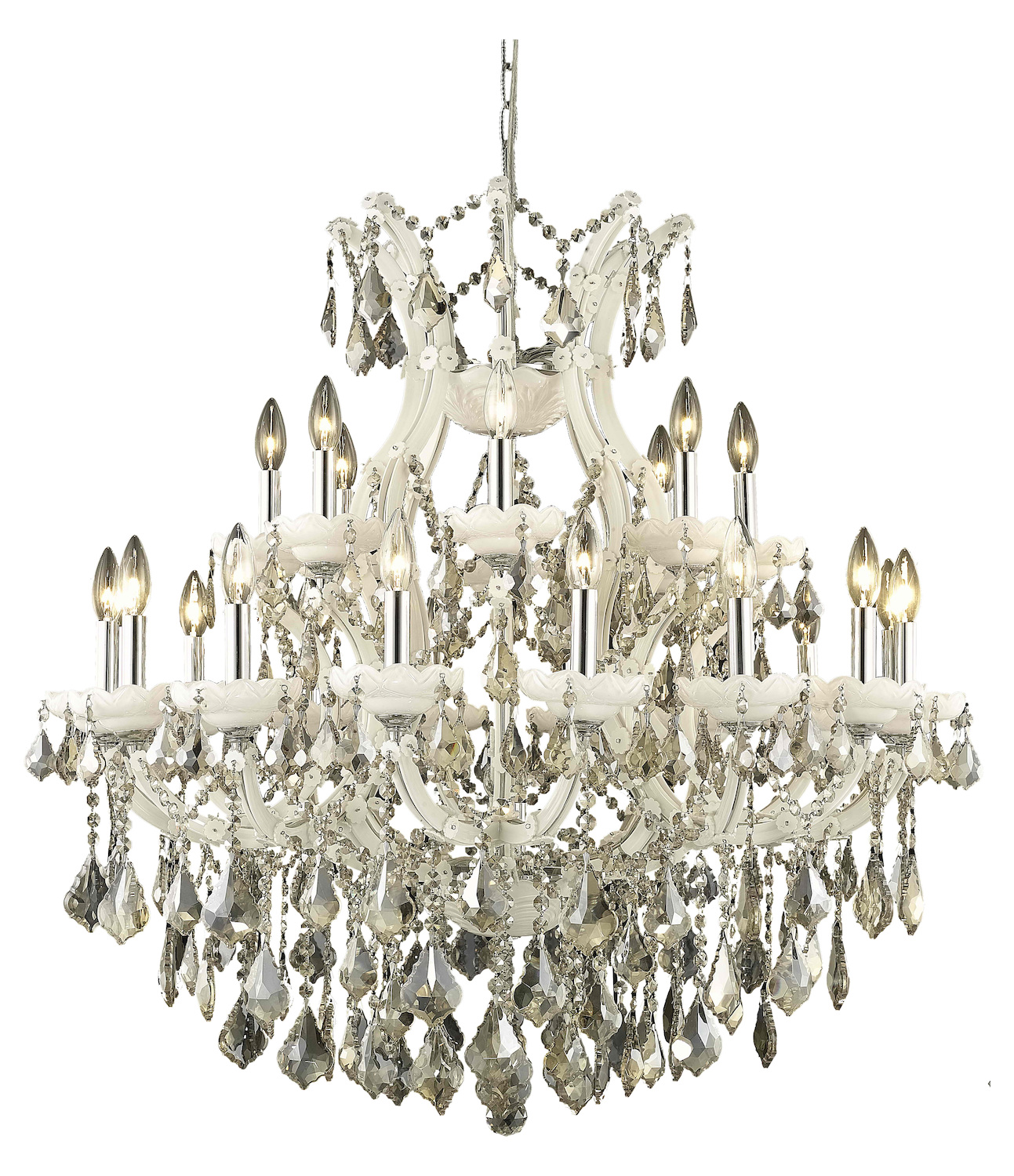 elegant lighting dining room chandelier white white
