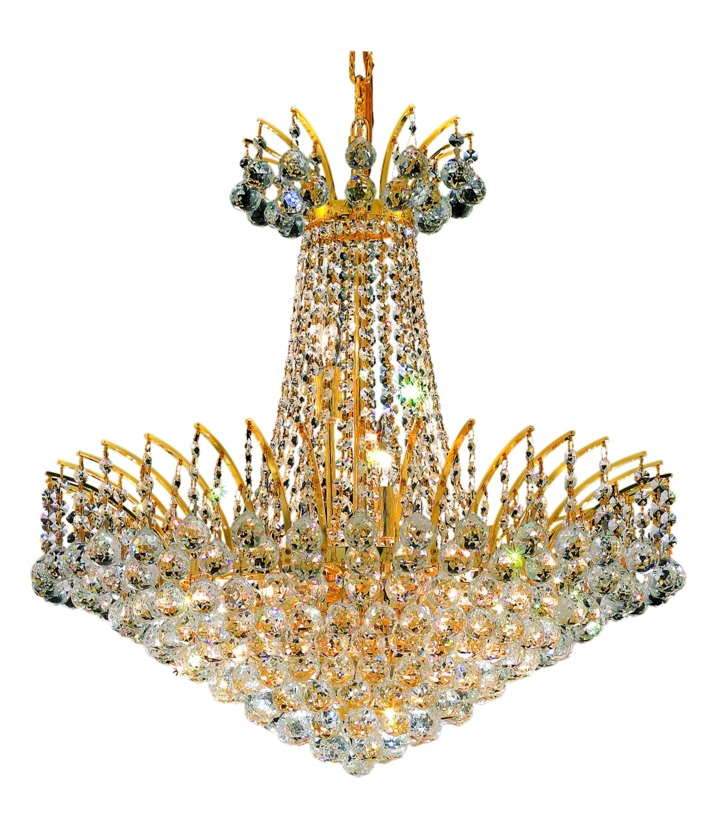 Elegant Lighting Swarovski Spectra Clear Crystal Victoria