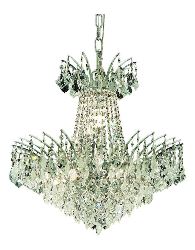Elegant Lighting Swarovski Elements Clear Crystal Victoria