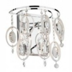 Artcraft Six Light Chrome Wall Light - AC907CH