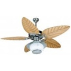 Craftmade One Light Gv - Galvanized Frost Glass Ceiling Fan - K10527
