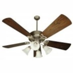 Craftmade Four Light Bn - Brushed Nickel Ceiling Fan - K10755