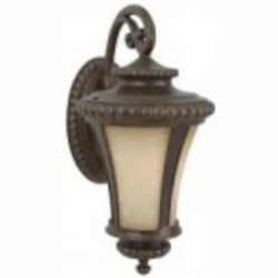 Craftmade One Light Bronze Wall Lantern - Z1214-112