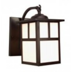 Craftmade One Light Copper Wall Lantern - Z1844-56