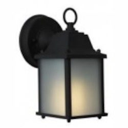 Craftmade One Light Black Wall Lantern - Z192-05