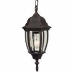 Craftmade One Light Black Hanging Lantern - Z261-07