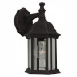 Craftmade One Light White Wall Lantern - Z294-07-NRG