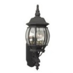 Craftmade Three Light Black Wall Lantern - Z330-05