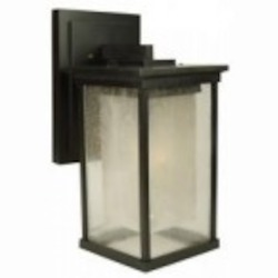 Craftmade One Light Bronze Wall Lantern - Z3724-92