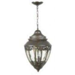 Craftmade Three Light Bronze Hanging Lantern - Z3821-98