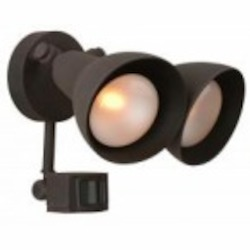 Craftmade Two Light Black Motion Light - Z402PM-05