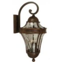 Craftmade Two Light Bronze Wall Lantern - Z4214-98