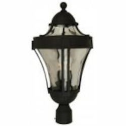 Craftmade Three Light Black Post Light - Z4225-05