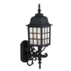 Craftmade Three Light Black Wall Lantern - Z574-05