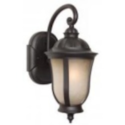 Craftmade One Light Bronze Wall Lantern - Z6104-92-NRG