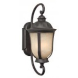 Craftmade Two Light Bronze Wall Lantern - Z6110-92