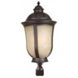 Craftmade Three Light Bronze Post Light - Z6125-92